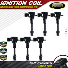 Set of 6 Ignition Coils for Nissan Maxima Murano Navara Pathfinder 6Cyl 3.5/4.0L
