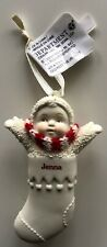 SNOWBABIES Personalized JENNA - Porcelain Stocking Ornament by Department 56