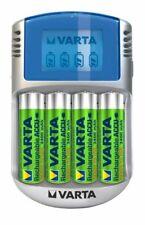 Varta LCD Charger Ladegerät AA und AAA inklusive 4x Akku Batterie AA