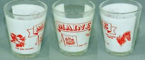 Maine Attractions Shot Glass #5153