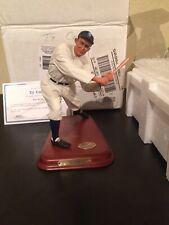 Danbury Mint Ty Cobb Detroit Tigers Baseball Statue Figurine W/ Box & Coa 2002