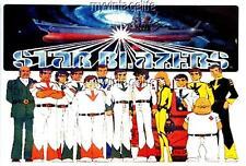 "STAR BLAZERS Fridge MAGNET  2"" x 3"" art NOSTALGIC VINTAGE CARTOON"