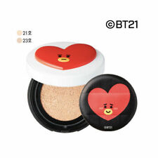 Bt21_Vt Real Wear Satin Cushion Tata 12g Spf37 Pa+ Bright Skin Cover Powder Bts