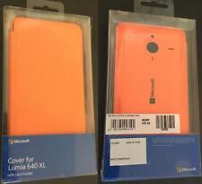 New MICROSOFT Wallet Flip Cover with Card Holder Orange Case Nokia Lumia 640 XL