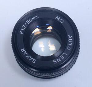 for PENTAX K 50mm f/1.7 SAKAR Auto Lens SLR DSLR Mirrorless Camera