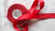ruban satin rouge 20 mm vendu par 2 mètres