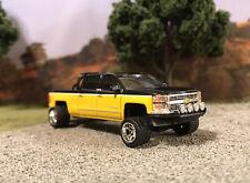 2015 Chevy Silverado 1/64 Custom Diecast Carolina Squat Tilted Lean 4x4 Truck