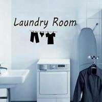 Laundry Room Wall Stickers Removable Door Stickers Vinyl Decal Home Decor