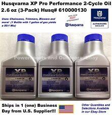 Husqvarna XP 2-Cycle Oil 1-Gallon Mix 2.6oz #610000130-3Pk