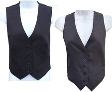 Ladies Wool Mix Waistcoat Formal Vest Spill Resistant Hospitality womens Nanotex