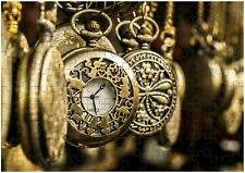 Pocket Watches Time A4 JIGSAW Puzzle Birthday Christmas Gift (Can Personalise)