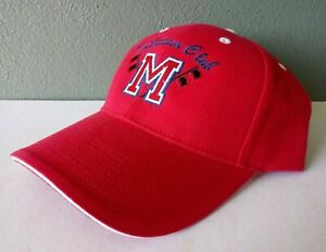 MANATEE HURRICANES BRADENTON FL FOOTBALL TOUCHDOWN CLUB ADJUSTABLE CAP HAT