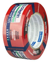 Red Stucco Tape Polyethylene Tape 48mm x 50m Resistant to UV for up to 30 days