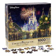 Walt Disney World Thomas Kinkade Main Street USA Castle 1000 Pcs Jigsaw Puzzle