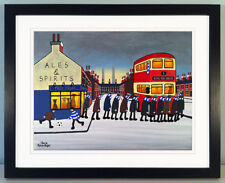 "JACK KAVANAGH ""GOING TO THE MATCH"" QUEENS PARK RANGERS FRAMED PRINT"