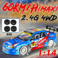 1:14 RC Drift Racing Car 4WD 2.4G High Speed Remote Control 700mAh USB Kid  CN