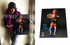 WWE SASHA BANKS HAND SIGNED AUTOGRAPHED 16X20 PHOTOFILE PHOTO WITH PIC PROOF 2