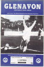 1989/90 Glenavon v Linfield - Ulster Cup - 22nd Aug - Vol 8 No 1