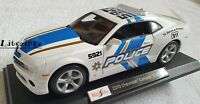 MAISTO 1:18 Diecast Model Car Chevrolet Camaro SS Police White and Blue
