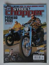 Street Chopper Motorcycle Magazine December 2013 ~ Panhead Pride