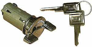 1973-1978 Chevy Nova Ignition Cylinder Assembly With Keys  NEW