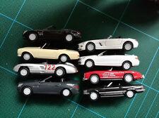 1/72 to 1/81 ish Mercedes-Benz classic cars lots set, SL, E, SLS, SLK, 300 SLR