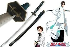 Bleach SOSUKE AIZEN Animation SWORD Cosplay W/Single Sword Stand