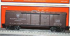 LIONEL Horseshoe Curve PRR Double Door Boxcar Railway Express # 6-15889