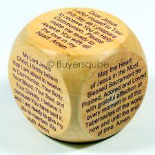 "First Communion Prayer Cube (6 Prayers) Religious Item 1 5/8"""