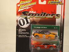 "1970 DODGE LA Dart  Johnny Lightning= ""THE SPOILERS"" 1:64 scale  NEW ITEM"
