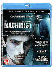 The Machinist Blue Ray Disc (2010)