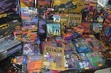 1989-1992 NICE BATMAN TOY COLLECTION!!! 31 ITEMS TOTAL!!! MUST SEE!!!