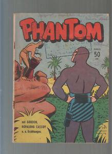 Phantom Aller Verlag Nr. 19 von 2.Jahrgang Original 1953 Phantom, Flash Gorden