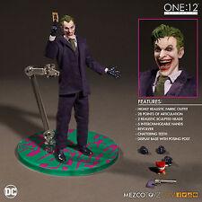 """ONE:12 el Guasón Figura de acción colectiva DC COMICS MEZCO 17cm/6.5"""""""
