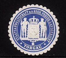 45725/ Siegelmarke - Staatsanwaltschaft - Landgericht - Torgau