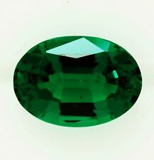 NATURAL BRAZILIAN EMERALD 0.59ct!! NATURAL COLOUR +CERTIFICATE AVAILABLE