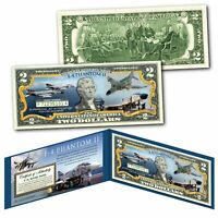 F-4 PHANTOM II Jet Fighter-Bomber Vietnam War Genuine Legal Tender $2 U.S. Bill