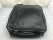 Judd's Very Nice Black Leather Pipe Case - Holds 6 Pipes
