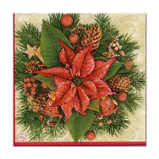 4 Motivservietten Servietten Napkins Weihnachten Weihnachtsstern (337)