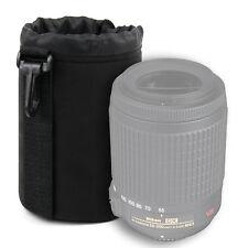 Medium Lens Pouch Case for Nikon AF-S DX VR Zoom-Nikkor 55-200mm f/4-5.6G IF-ED