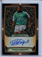 2019-20 Panini Obsidian AUTOGRAPH Paulo Wanchope - Manchester City Auto #39/50