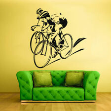 Wall Vinyl Sticker Bedroom Design Bike Sport Bicycle Decal Cycle (Z835)