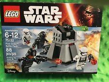 Lego Star Wars First Order Battle Pack Set # 75132 Storm Troopers - Sealed