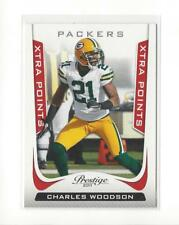 2011 Prestige Xtra Points Red #71 Charles Woodson Packers /100