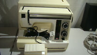 Janome 632 Excel 18 Sewing Machine with foot pedal & case made in Japan