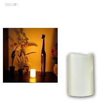 LED CANDELA 11,5cm con timer per esterni ALL'aperto senza fiamma tremolante