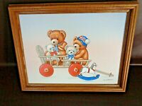 Personal Preference Framed Artwork Signed By C. Carson (#A7025)