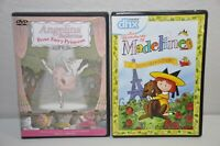 Angelina Ballerina Rose Fairy Princess DVD and Madeline in Paris DVD Lot of 2
