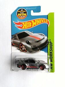 Hot Wheels 2015 Zamac PORSCHE 911 GT3 RS HW Workshop Walmart Exclusive
