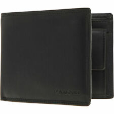 SAMSONITE Black Leather Trifold Wallet